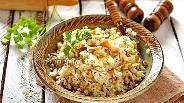 Фото рецепта Начинка для пирожков с грибами и рисом