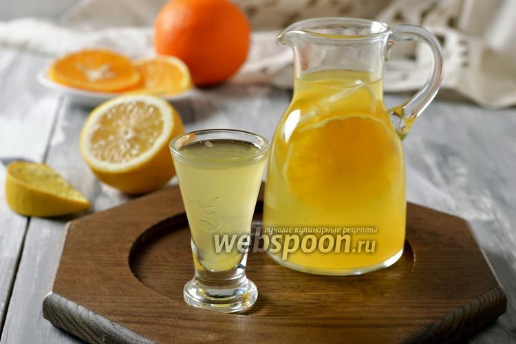 Фото Лимонад из апельсинов и лимонов