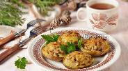 Фото рецепта Лодочки из картофеля, фаршированные грибами