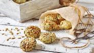 Фото рецепта Постное печенье с семечками