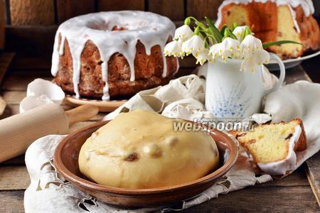 Тесто для кулича в хлебопечке