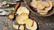 Фото рецепта Рисовые крекеры
