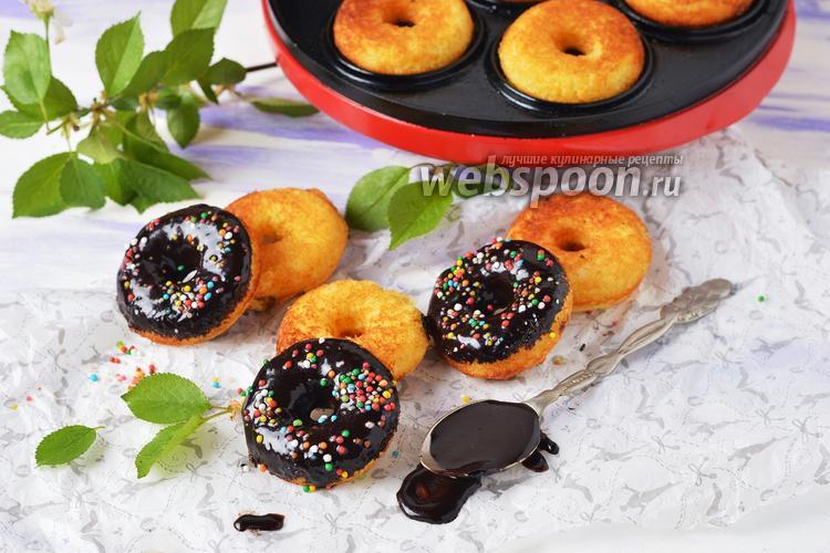 Фото Пончики с манкой