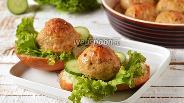 Фото рецепта Курино-говяжьи котлеты в духовке