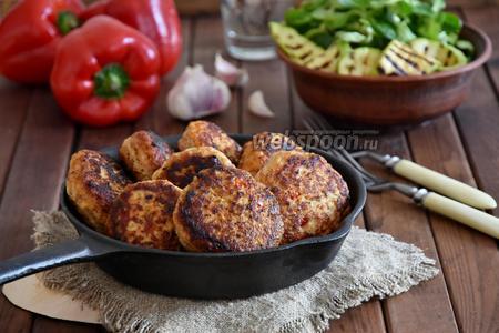 Котлеты мясо-овощные