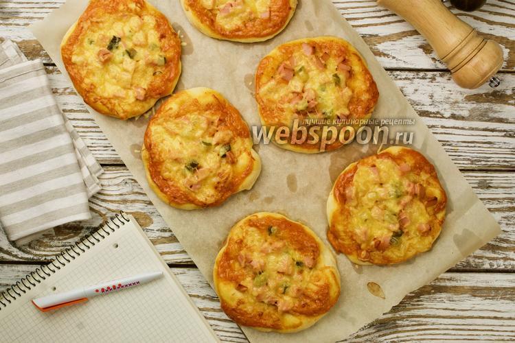 Фото Школьная мини-пицца