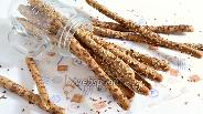 Фото рецепта Гриссини из цельнозерновой муки без дрожжей