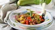 Фото рецепта Перловка с овощами в мультиварке