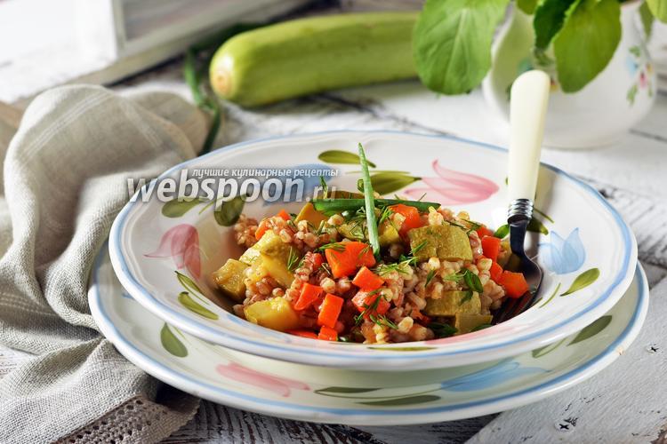 Фото Перловка с овощами в мультиварке