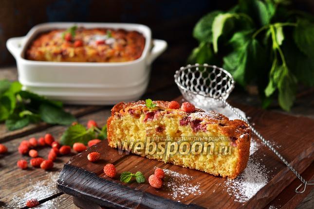 Фото Земляничный пирог