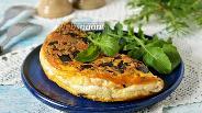 Фото рецепта Омлет Пуляр с грибами