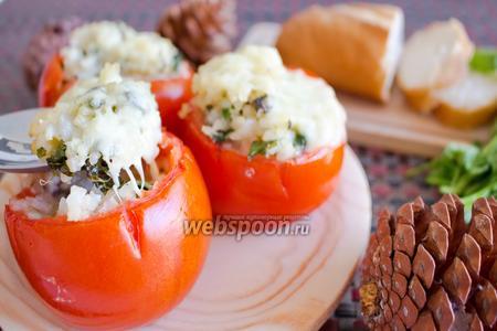Запечённые с рисом помидоры