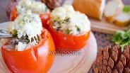 Фото рецепта Запечённые с рисом помидоры