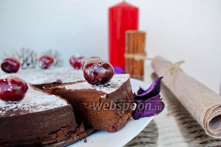 Фото Шоколадный торт за 20 минут