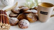 Фото рецепта Творожное печенье с корицей