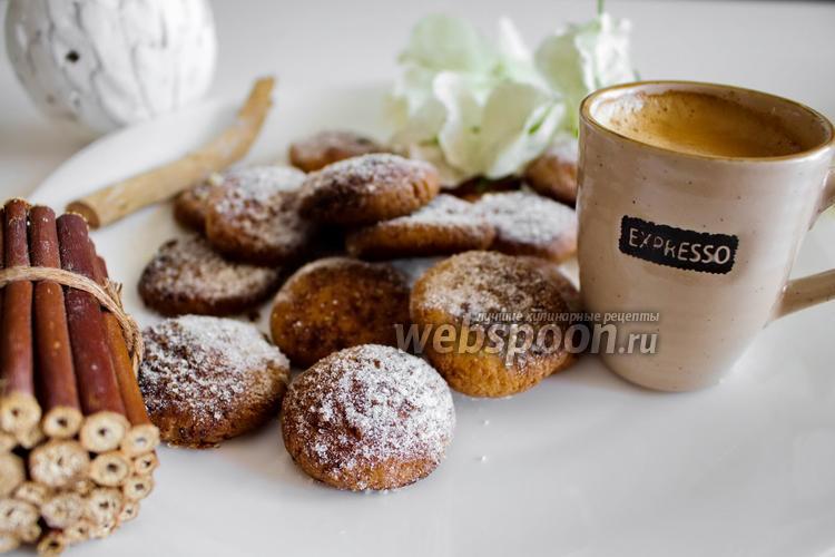 Фото Творожное печенье с корицей