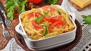 Фото рецепта Макароны, запечённые с помидорами под сыром