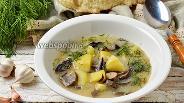 Фото рецепта Суп из подберёзовиков