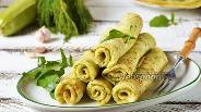 Фото рецепта Кабачковые блины с сыром