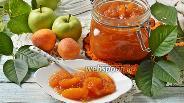 Фото рецепта Варенье из абрикосов и яблок