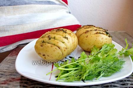 Картофель фаршированный фаршем