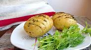 Фото рецепта Картофель фаршированный фаршем