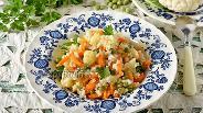 Фото рецепта Рис с цветной капустой