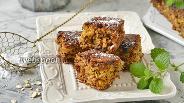 Фото рецепта Овсяный пирог с бананом