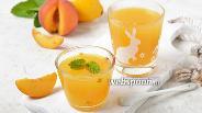 Фото рецепта Кисель из персиков