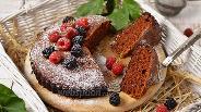 Фото рецепта Пирог с вареньем на сковороде
