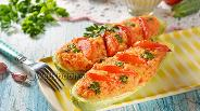 Фото рецепта Кабачки фаршированные рисом и овощами