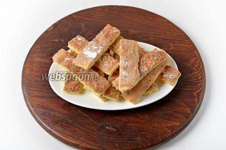 Ленивое печенье Савоярди готово. Можно смело готовить Тирамису или кушать с чашечкой любимого кофе.