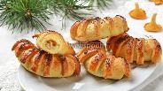 Фото рецепта Пирожки с лисичками и картошкой