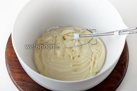 В качестве крема я использовал половину порции  заварного крема на кефире .