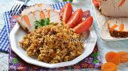 Фото рецепта Гречневая каша с курагой и яйцом