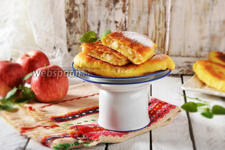 Творожные пирожки на сковороде
