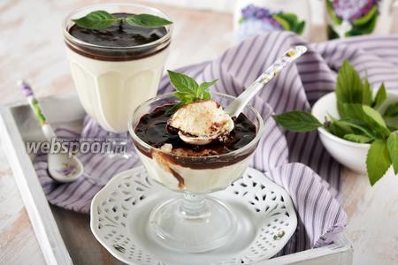 Десерт «Птичье молоко» из сметаны