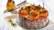 Фото рецепта Пирог «Груши в хрустале»
