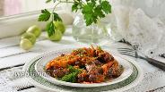Фото рецепта Куриные шейки тушёные