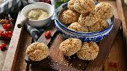 Фото рецепта Постное кунжутное печенье