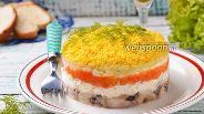Фото рецепта Мимоза с селёдкой