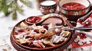 Фото рецепта Вареники с замороженной вишней