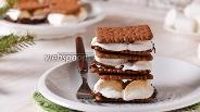 Фото рецепта Американский десерт смор