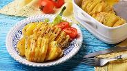 Фото рецепта Картошка-гармошка с сыром