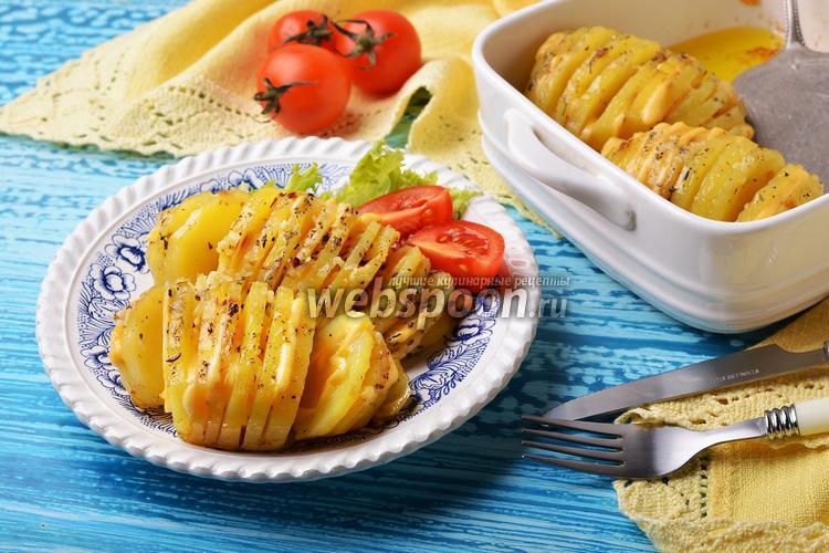 Фото Картошка-гармошка с сыром