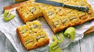 Фото рецепта Пирог с киви и бананом