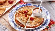 Фото рецепта Блины с дырочками на молоке