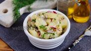 Фото рецепта Французский картофельный салат