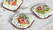 Фото рецепта Сморреброд со стручковой фасолью