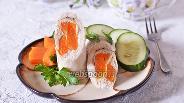 Фото рецепта Рулетики из куриного филе с тыквой